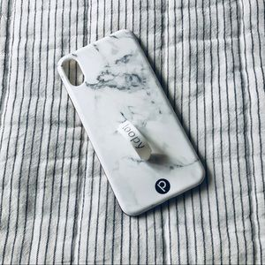 White Marble Loopy Case